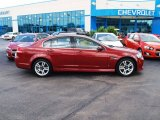 2009 Sport Red Metallic Pontiac G8 Sedan #81634175