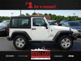 2012 Bright White Jeep Wrangler Sport 4x4 #81634170