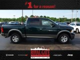 2011 Hunter Green Pearl Dodge Ram 1500 SLT Crew Cab 4x4 #81634162