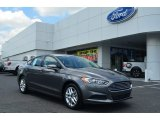 2013 Sterling Gray Metallic Ford Fusion SE 1.6 EcoBoost #81634342