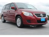 2012 Deep Claret Red Metallic Volkswagen Routan SE #81634741