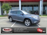 2013 Shoreline Blue Pearl Toyota Highlander Limited 4WD #81685248