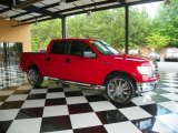 2010 Vermillion Red Ford F150 XLT SuperCrew #81685580