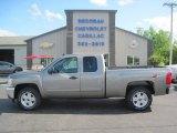 2013 Graystone Metallic Chevrolet Silverado 1500 LT Extended Cab 4x4 #81685573