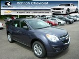 2013 Atlantis Blue Metallic Chevrolet Equinox LS #81685462