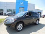 2013 Kona Coffee Metallic Honda CR-V EX-L AWD #81685329