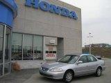 2002 Satin Silver Metallic Honda Accord SE Sedan #8155326