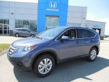 2013 Twilight Blue Metallic Honda CR-V EX AWD #81685326
