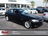 2010 Jet Black BMW 3 Series 328i Sedan #81685107