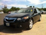 2010 Crystal Black Pearl Acura TSX Sedan #81684964
