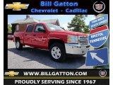 2013 Victory Red Chevrolet Silverado 1500 LT Crew Cab 4x4 #81685436