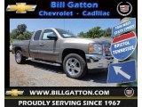 2013 Graystone Metallic Chevrolet Silverado 1500 LT Extended Cab 4x4 #81685435