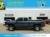 2006 Blue Granite Metallic Chevrolet Silverado 1500 LT Extended Cab 4x4 #81685425