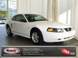 2003 Oxford White Ford Mustang V6 Coupe #81684742