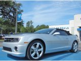 2012 Silver Ice Metallic Chevrolet Camaro SS Convertible #81684919