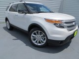 2013 White Platinum Tri-Coat Ford Explorer XLT #81685067