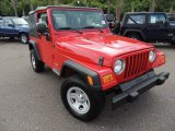 2006 Flame Red Jeep Wrangler SE 4x4 #81685169