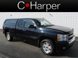 2008 Dark Blue Metallic Chevrolet Silverado 1500 LT Extended Cab 4x4 #81685394