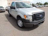 2010 Ingot Silver Metallic Ford F150 XL Regular Cab #81685166