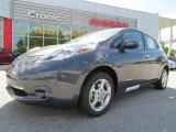 2013 Metallic Slate Nissan LEAF SV #81685162