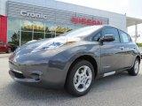 2013 Metallic Slate Nissan LEAF SV #81685159