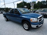 2006 Atlantic Blue Pearl Dodge Ram 1500 SLT Quad Cab 4x4 #81685476