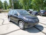 2013 Crystal Black Pearl Honda CR-V LX AWD #81685369