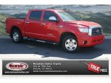 2008 Radiant Red Toyota Tundra Limited CrewMax 4x4 #81684701