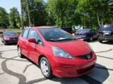 2013 Milano Red Honda Fit  #81685367