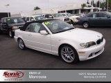 2004 Alpine White BMW 3 Series 330i Convertible #81742096
