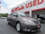 2012 Predawn Gray Mica Toyota Sienna Limited #81742045