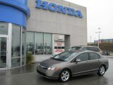 2006 Galaxy Gray Metallic Honda Civic EX Sedan #8155356