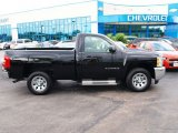 2012 Black Chevrolet Silverado 1500 LS Regular Cab #81742031