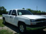 2005 Summit White Chevrolet Silverado 1500 LS Extended Cab #81742151