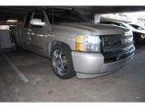 2008 Silver Birch Metallic Chevrolet Silverado 1500 LS Extended Cab #81742203