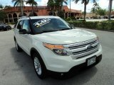 2011 White Suede Ford Explorer XLT #81761172