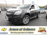 2013 Tungsten Metallic Chevrolet Equinox LT AWD #81770186