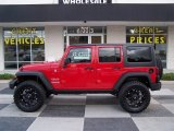 2012 Flame Red Jeep Wrangler Unlimited Sport 4x4 #81770253
