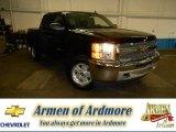 2013 Black Chevrolet Silverado 1500 LT Crew Cab 4x4 #81770180