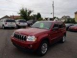 2006 Red Rock Crystal Pearl Jeep Grand Cherokee Laredo 4x4 #81770461