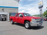 2013 Victory Red Chevrolet Silverado 1500 LT Extended Cab 4x4 #81770040