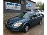 2007 Blue Granite Metallic Chevrolet Cobalt LS Sedan #81770176