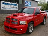 2005 Flame Red Dodge Ram 1500 SRT-10 Regular Cab #81770174