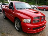 2005 Dodge Ram 1500 Flame Red
