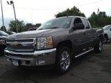 2013 Graystone Metallic Chevrolet Silverado 1500 LT Extended Cab 4x4 #81770094