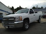 2013 Summit White Chevrolet Silverado 1500 LS Regular Cab #81770088