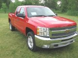 2013 Victory Red Chevrolet Silverado 1500 LT Extended Cab 4x4 #81770514