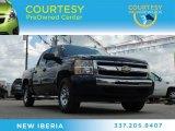 2009 Imperial Blue Metallic Chevrolet Silverado 1500 LS Crew Cab #81770444
