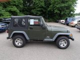 2006 Jeep Green Metallic Jeep Wrangler SE 4x4 #81770076