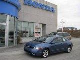 2007 Atomic Blue Metallic Honda Civic EX Coupe #8155374